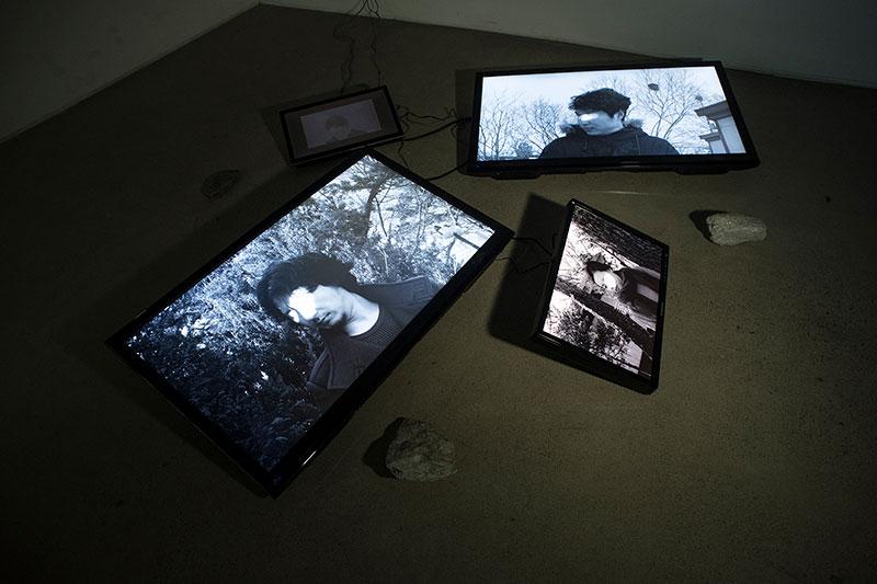 installation view @Gonggansail, Seoul, S.Korea